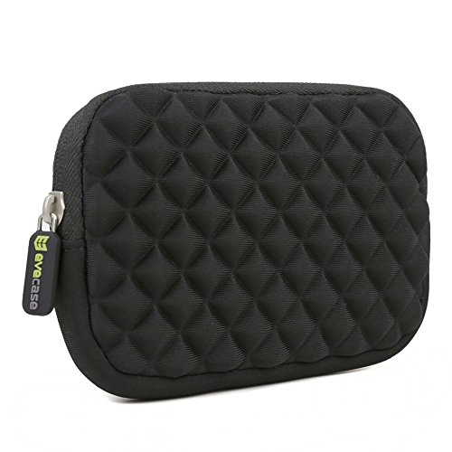 Evecase Portable Storage Carrying Case Pouch Bag for Seagate Expansion 500 GB /1TB / 2TB / 3TB / 4TB 2.5-Inch USB 3.0 Portable External Hard Drive - Black