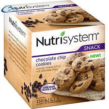 Nutrisystem Snack Chocolate Chip Cookies, 4 Cookies (4) by Nutrisystem (Image #1)