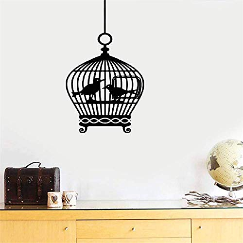 Wall Decal Sticker Art Mural Home Decor Bird Cage Stickers