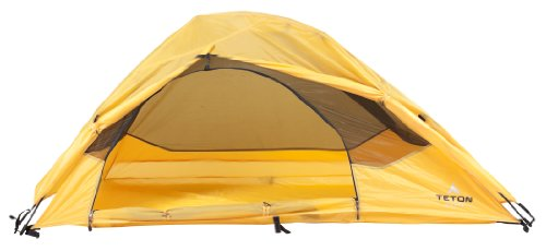 TETON Sports Outfitter XXL Quick Tent (82-Inch x 39-Inch x 32-Inch, Orange/Yellow), Outdoor Stuffs