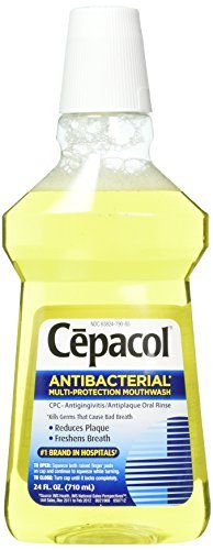 Cepacol Numbing Mouthwash, 24 Ounces each (Value Pack of 2)