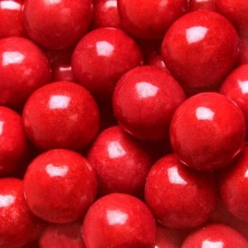 Gumballs Red Bubble Gum 2 Pounds 0.5 inch Mini Gumballs