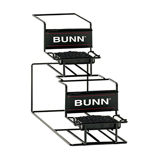 BUNN 35728 1 Upper and Lower Universal Airpot Rack, Stainless ()