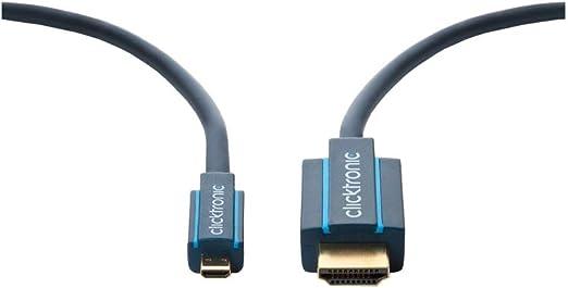 Clicktronic Casual Micro Hdmi Adapterkabel Mit Elektronik