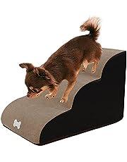 Huisdier Trappen Ladder-3 Tiers Schuim Hond Ramps Stappen Hond Trappen Ladder Anti-Slip Huisdier Oprit Trap Stap Slaapbank Ladder Hond Oprit Hond Kat Huisdier Ladder Voor Honden Katten