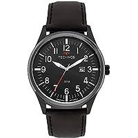 Relógio Technos Masculino Militar Pulseira Couro 2115mtc