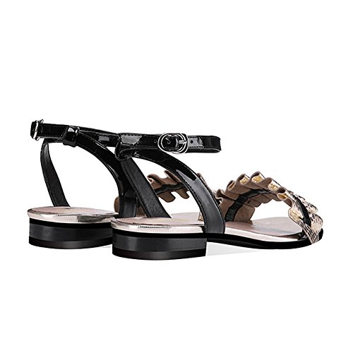 Moda Casual QIMAOO Playa de Mujer Sandalias Planos Sandalia Verano Zapatos Vacaciones fq47zAw