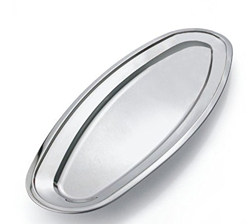 stainless steel meat platter - 7