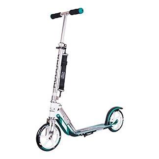 HUDORA 14751 BigWheel 205-Das Original mit RX Pro Technologie-Tret-Roller klappbar-City-Scooter, türkis 2