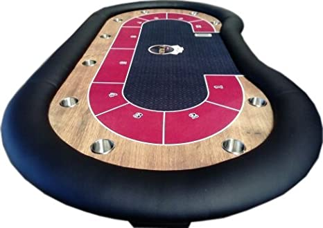 Newpokertable Mesa de poker 246x124 cm de alta calidad table of ...