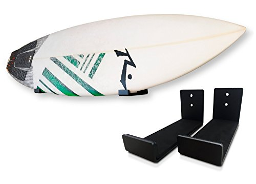 Surfboard Rack by CAPTIV Surf – Wall Mount – For Shortboards and Longboards