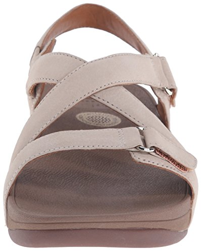 Fitflop the Skinny Sandal, Sandalias con Plataforma para Mujer Rosa (Stone)