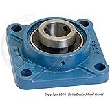 Soporte de cojinete de brida diámetro 20 mm tipo UCF204