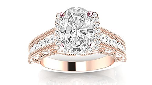 1.29 Ct Oval Diamond - 9