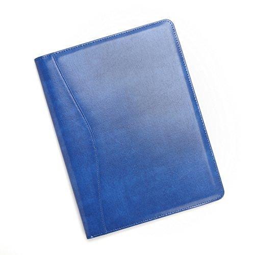 Royce Leather Aristo Padfolio (Malibu Blue)