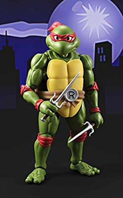 "Figuarts Raphael /""Teenage Mutant Ninja Turtles/"" Act Bandai Tamashii Nations S.H"