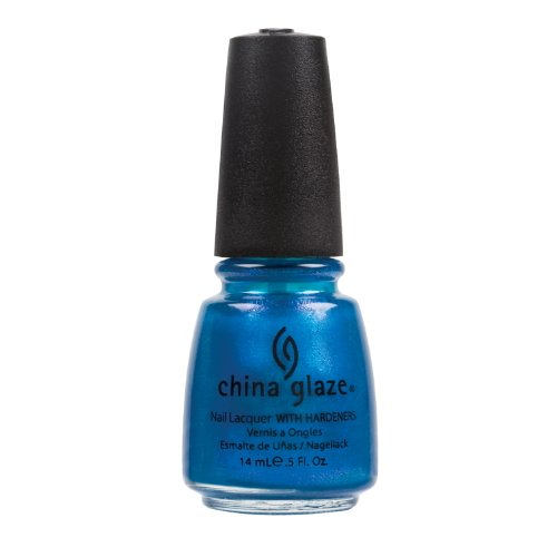 (6 Pack) CHINA GLAZE Nail Lacquer - Island Escape - Blue ...