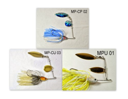 Akuna [VA] Pros' pick recommendation collection of lures for Bass, Panfish, Trout, Pike and Walleye fishing in Virginia(Bass 3-B)