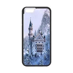 Custom Fairytale Castle Design PC Case Protector For Iphone 6 wangjiang maoyi