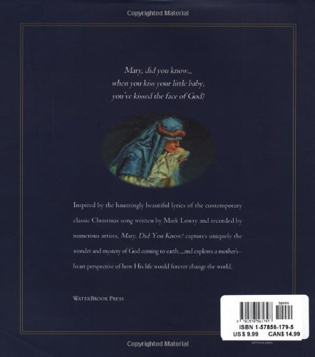 Mary, Did You Know?: The Story of God's Great Plan by WaterBrook Press (Image #1)