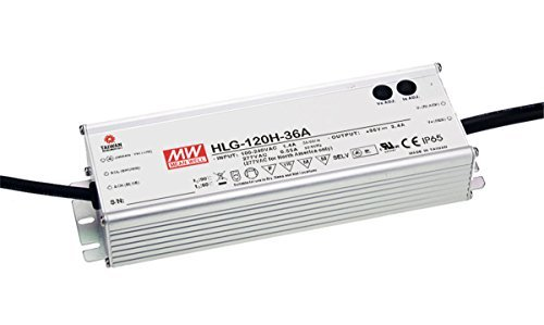 LED Driver Single Output Switching Power Supply 120 Watt 48V @ 2.5A A Model, 120 Watt (48 Volt Driver)