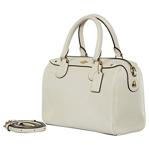 BENNETT CROSSGRAIN IN SATCHEL LEATHER MINI COACH White CgqOwPqAx