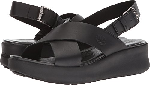 Timberland Women's Los Angeles Wind Slingback Black Full Grain 7 B US