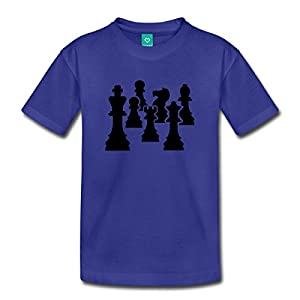 Chess Pieces Kids' Premium T-Shirt by Spreadshirt