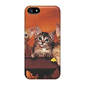Iphone Cases - Cases Protective For Iphone 5/5s- Three Kittens In A Red Wagon