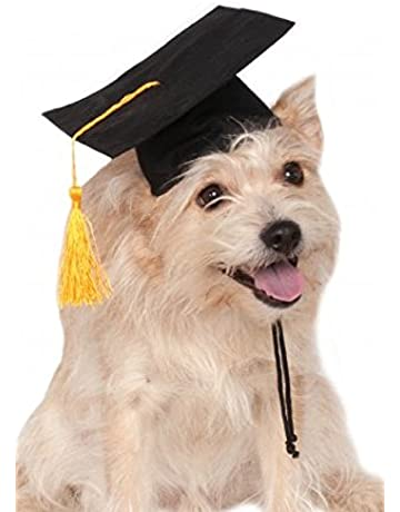 7879f2d72b6 Rubie s Black Grad Hat Pet Costume-