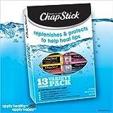 Chap Stick Lip Balm Variety Pack Assorted Flavors Original, Strawberry, Moisturizer, Cherry by Chapstick