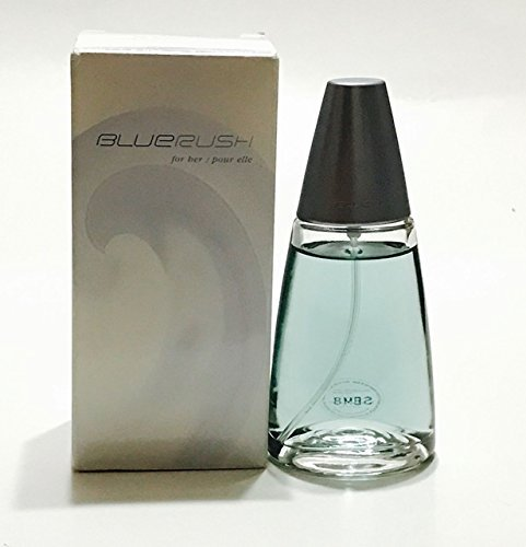 (Avon BLUE RUSH for Her EDT Spray 1.7 Fl Oz box imperfections from storage)