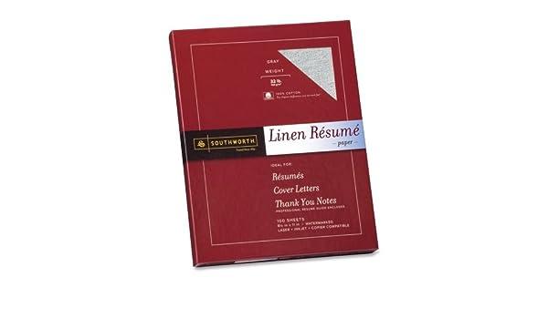 amazon com southworth linen resume paper letter 8 5 x 11