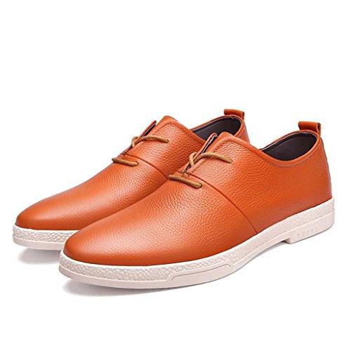 ZXCV Zapatos al aire libre Los zapatos de los hombres calzan los zapatos sólidos de los deportes al aire libre de los zapatos ocasionales Naranja