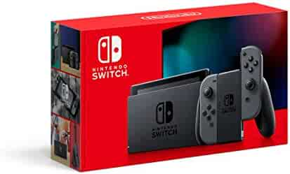 Nintendo Switch with Gray Joy‑Con - HAC-001(-01)