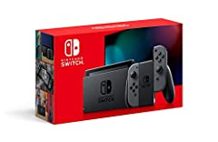 Get the gaming system that lets you play the games you want, wherever you are, however you like. Includes the Nintendo Switch console and Nintendo Switch dock in black, and left and right Joy‑Con controllers in a contrasting gray. Also includ...