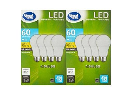 Led Light Bulb Value Pack - 2