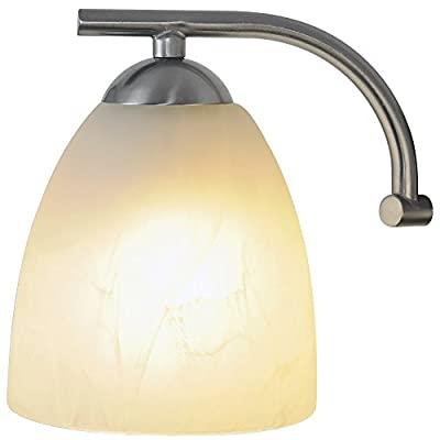 Monument 617633 Contemporary Vanity Fixture, Brushed Nickel, 20-1/2 In.
