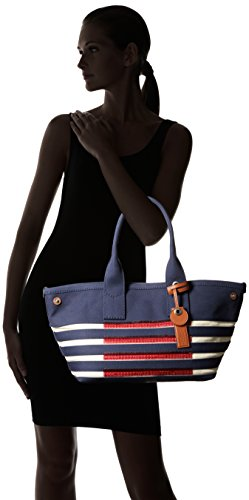 Marc by Marc Jacobs ST Tropez Tote Bag, New Prussian Blue/Ecru, One Size by Marc by Marc Jacobs (Image #6)