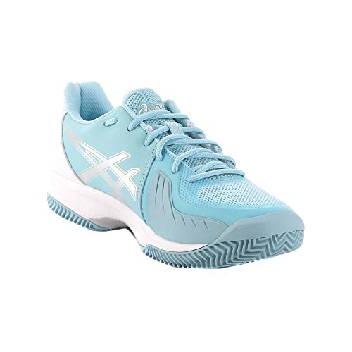 W Clay Court hellblau Asics Speed Gel weiss 717 Iw6Fg