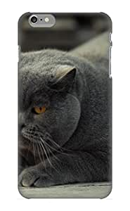 Wuhlko-1444-bklarnj Hot Fashion Design Case Cover For Iphone 6 Plus Protective Case (animal Cat)