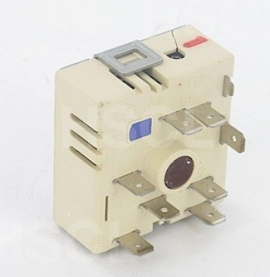 Energy Regulator: 50.55073.010 4179 Belling, Cannon, Creda, Hotpoint, Indesit, Rangemaster, Stoves dual circuit hob / grill cooker control simmerstat switch 13A 6mm spindle 240 volts dual circuit EGO 50.55073.010, Diamond H 33ER3MHT 48ER101 48ER101C