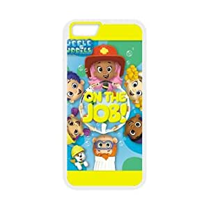 Unique Design Cases iPhone 6 Plus 5.5 Inch Cell Phone Case Bubble Guppies Loqgc Printed Cover Protector