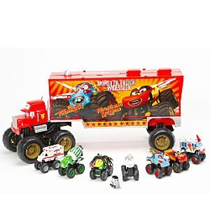 Cars Toons Monster Truck Mack Die Cast Cars Amazon Co Uk Toys