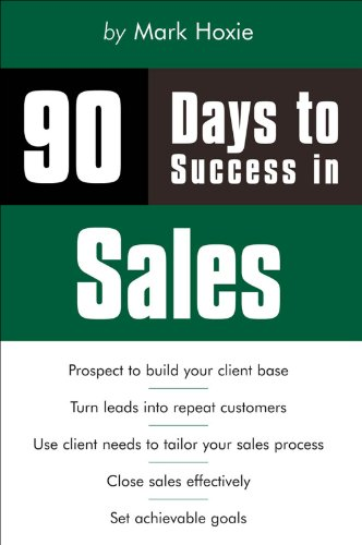90 Days to Success in Sales Pdf