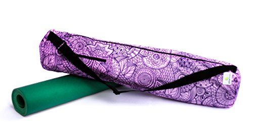 "Zen Garden Yoga Mat Bag (32"" X 7"") Designed for the Largest Mat: Lightweight, Durable, and Waterproof (Mat not included)"