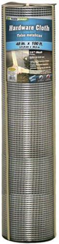 YARDGARD 308242B Fence, 48 X 100 , Silver
