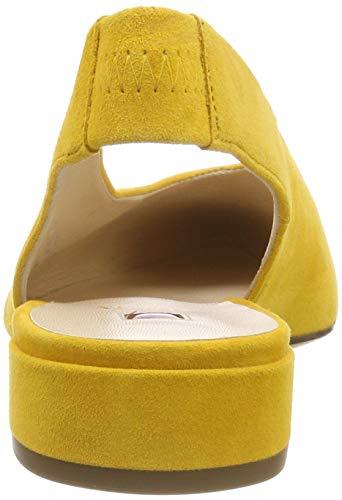 Donna Easy Högl 8100 yellow Ballerine TznqFEaw