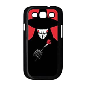 Samsung Galaxy S3 9300 Cell Phone Case Black V For Valentine VIU978816