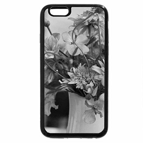 iPhone 6S Plus Case, iPhone 6 Plus Case (Black & White) - ..